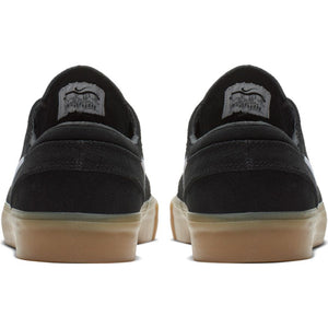 Nike SB Janoski Low Remastered Shoes - Black/Gum Light Brown/White