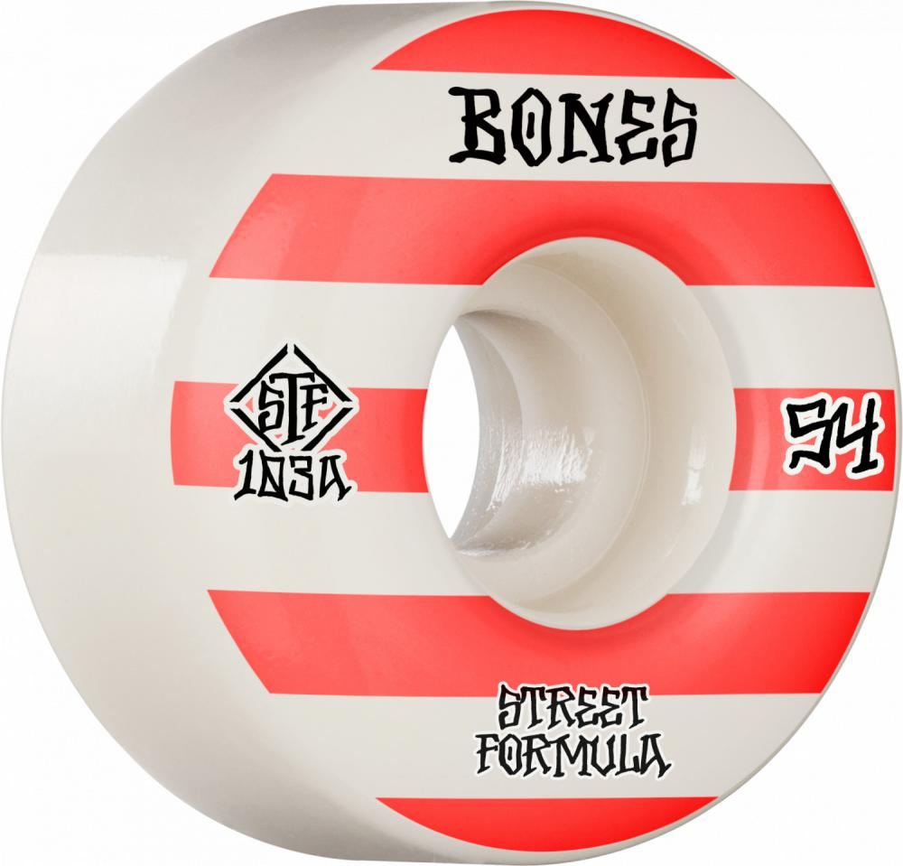 Bones Patterns STF V4 Wide 103a Wheels - 54mm