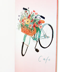 Skateboard Cafe Flower Basket Deck - Pink 8.25""