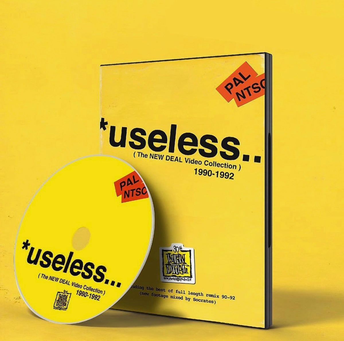 "New Deal ""Useless"" The Video Collection DVD - 1990 to 1992"