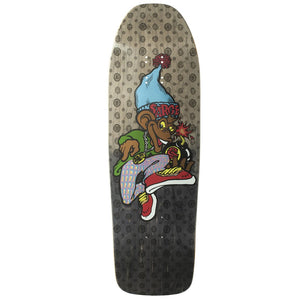 New Deal Sargent Monkey Bomber Metallic HT Deck - 9.625""