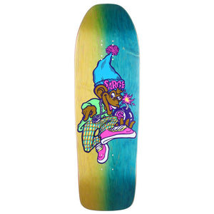 New Deal Sargent Monkey Bomber Neon HT Deck - 9.625""