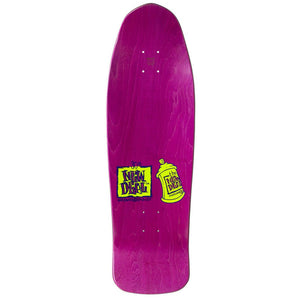 New Deal Spray Can Neon HT Deck - 9.75""