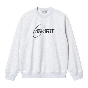 Carhartt Orbit Sweatshirt - Ash Heather/Navy