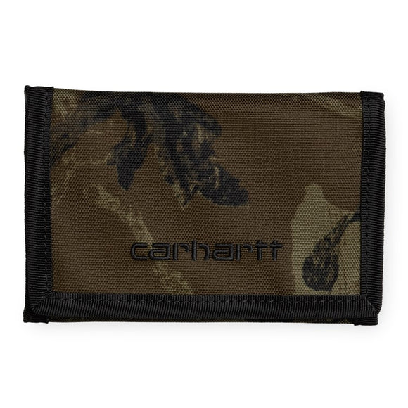 Carhartt WIP Payton Wallet - Camo Tree Green/White