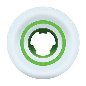 Ricta Speedrings Wide White/Green 101a Wheels - 53mm