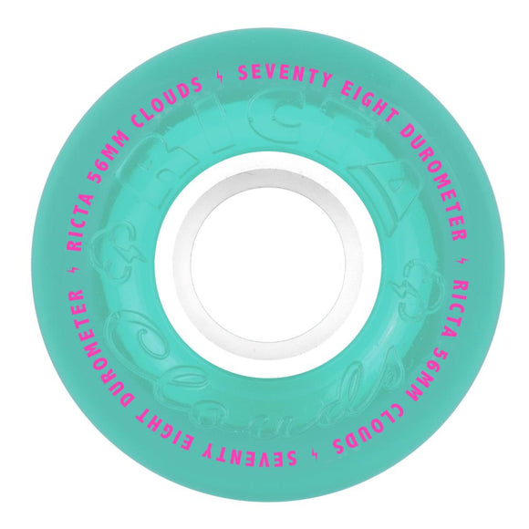 Ricta Crystal Clouds 78a Teal Wheels - 56mm