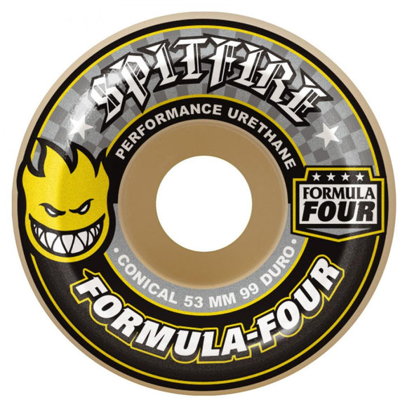 Spitfire Formula Four Conical Wheels 99a - 54mm