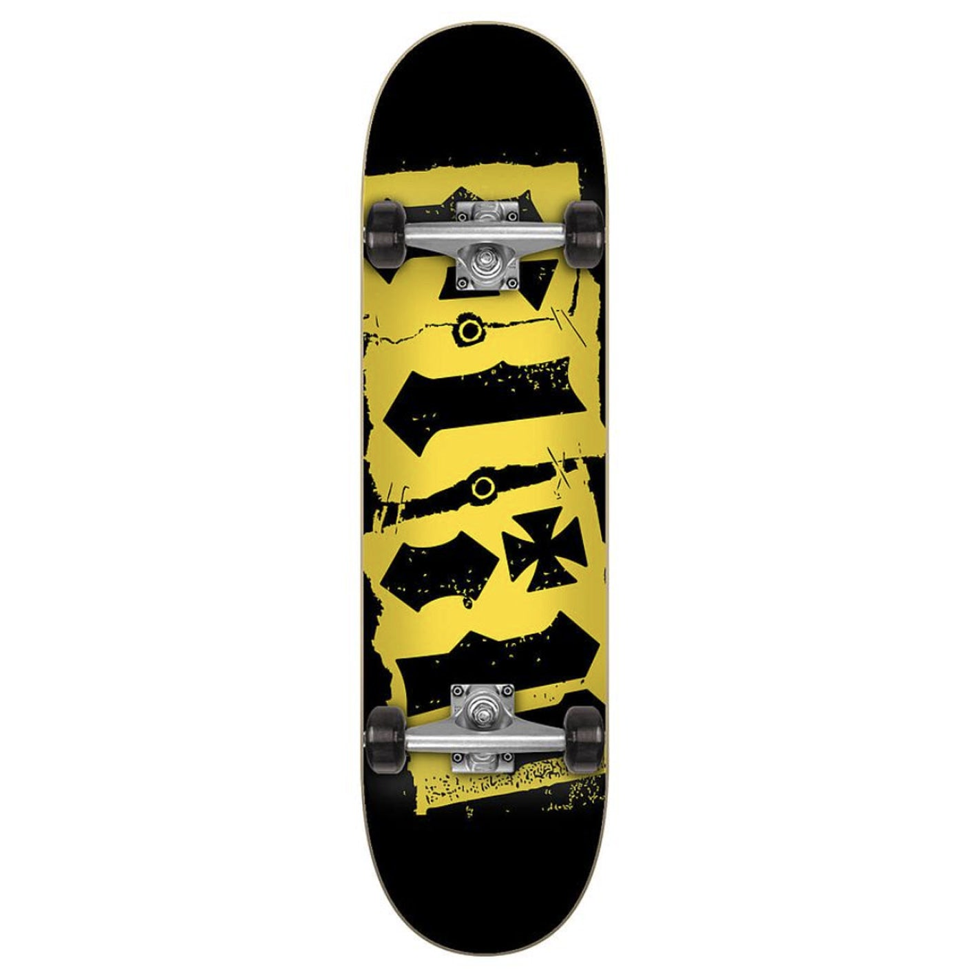 Flip Team Destroyer Complete Skateboard Black - 7.5""