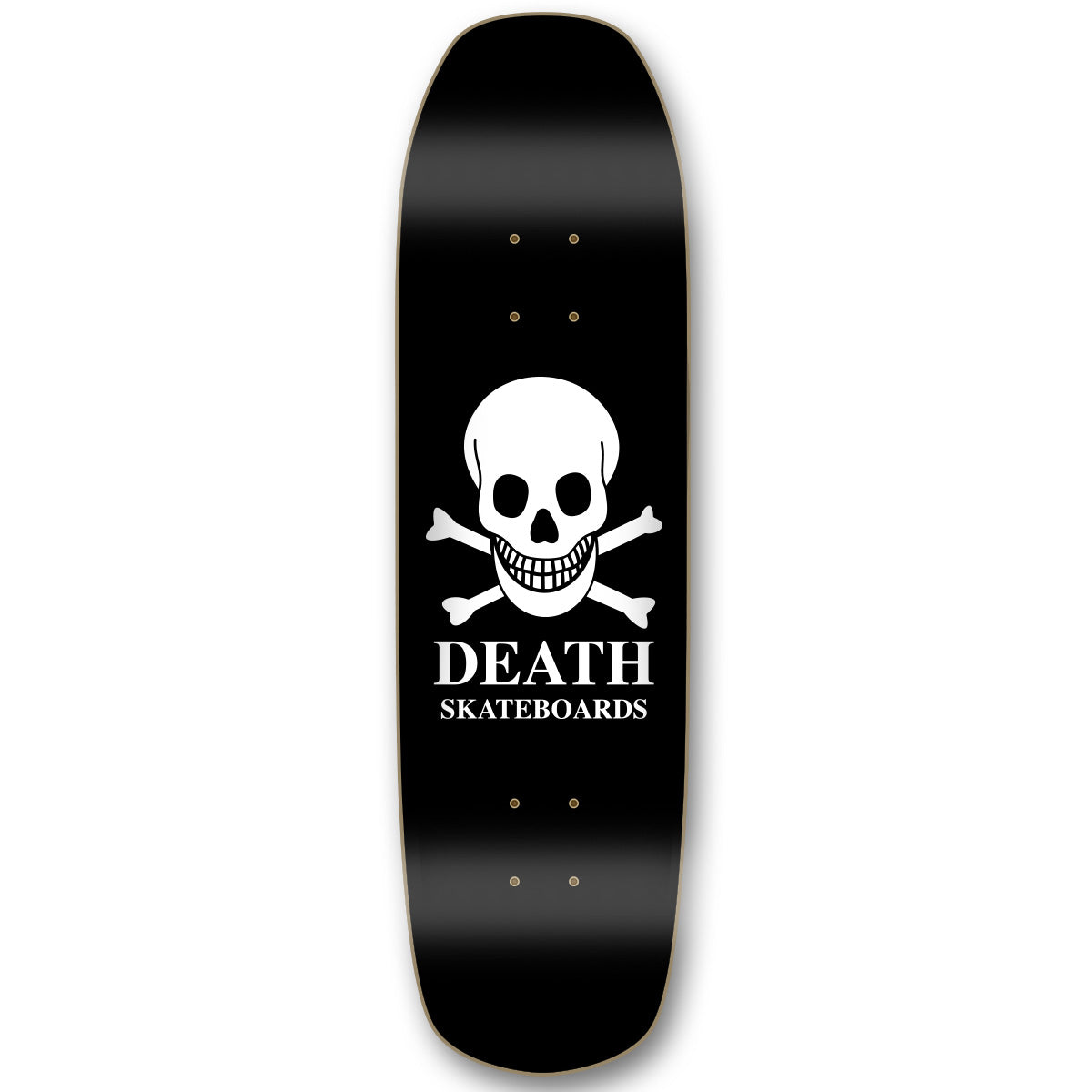 Death OG Skull Pool Deck Black - 9""
