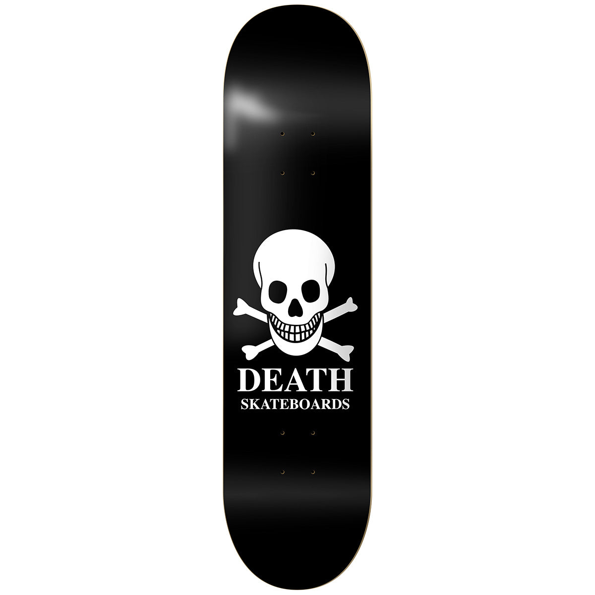 Death OG Skull Deck Black - 7.75""