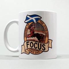 "Focus x Jon Horner ""Good Shit"" Coffee Mug"