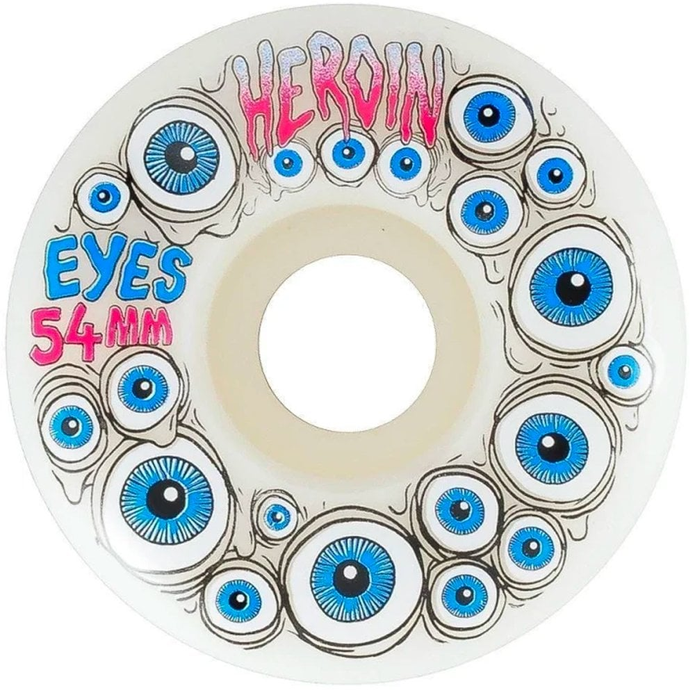 Heroin Eyes Glow In The Dark Wheels - 54mm