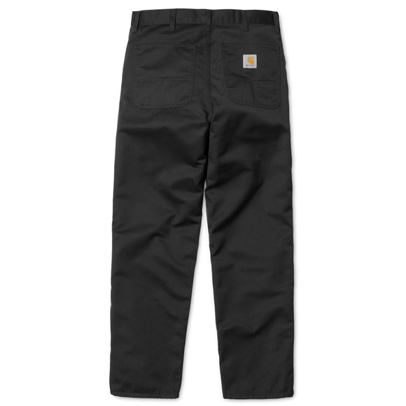 Carhartt WIP Simple Pant - Black Rinsed