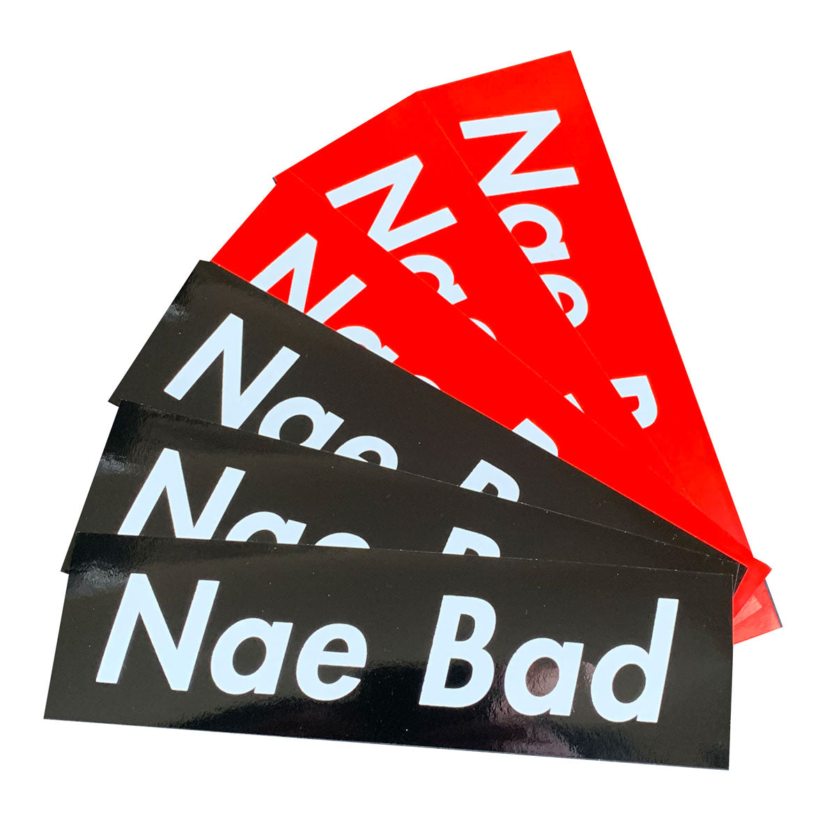 Focus Nae Bad Stickers - 6 pack