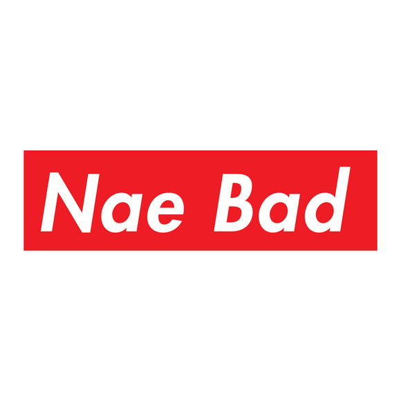 Focus Nae Bad Sticker - 3 pack