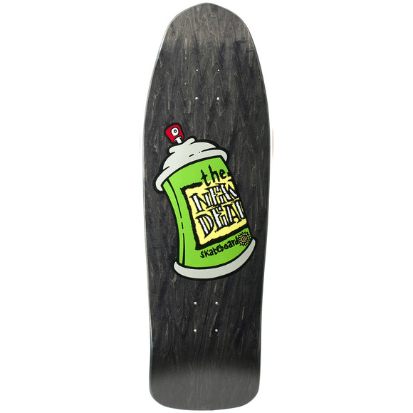 New Deal Spray Can Deck Black - 9.75