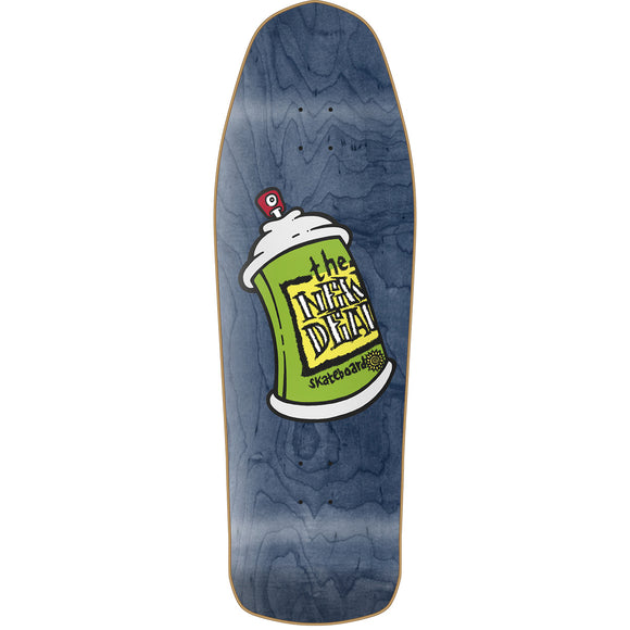 New Deal Spray Can Deck Blue - 9.75