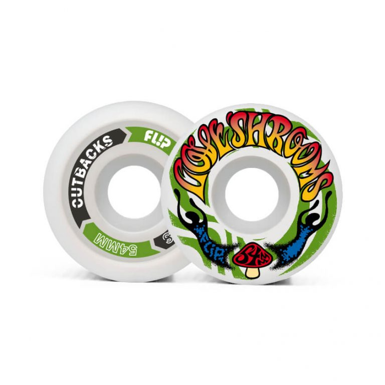 Flip Cutback Loveshroom Wheels - 54mm