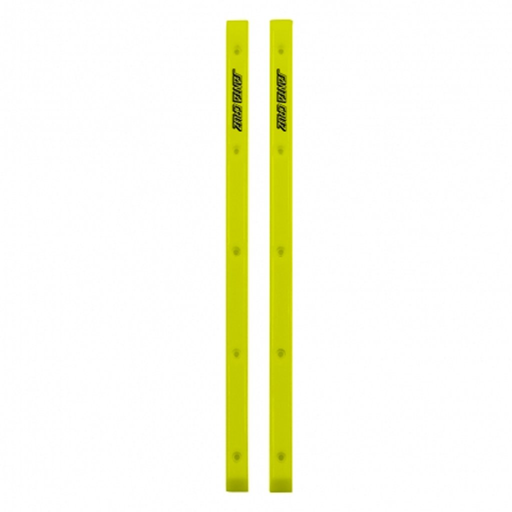 Santa Cruz Cell Block Slimline Rails - Neon Yellow