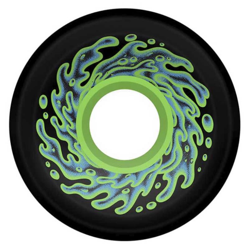Slime Balls OG Slime Wheels Black/Green 78a - 60mm