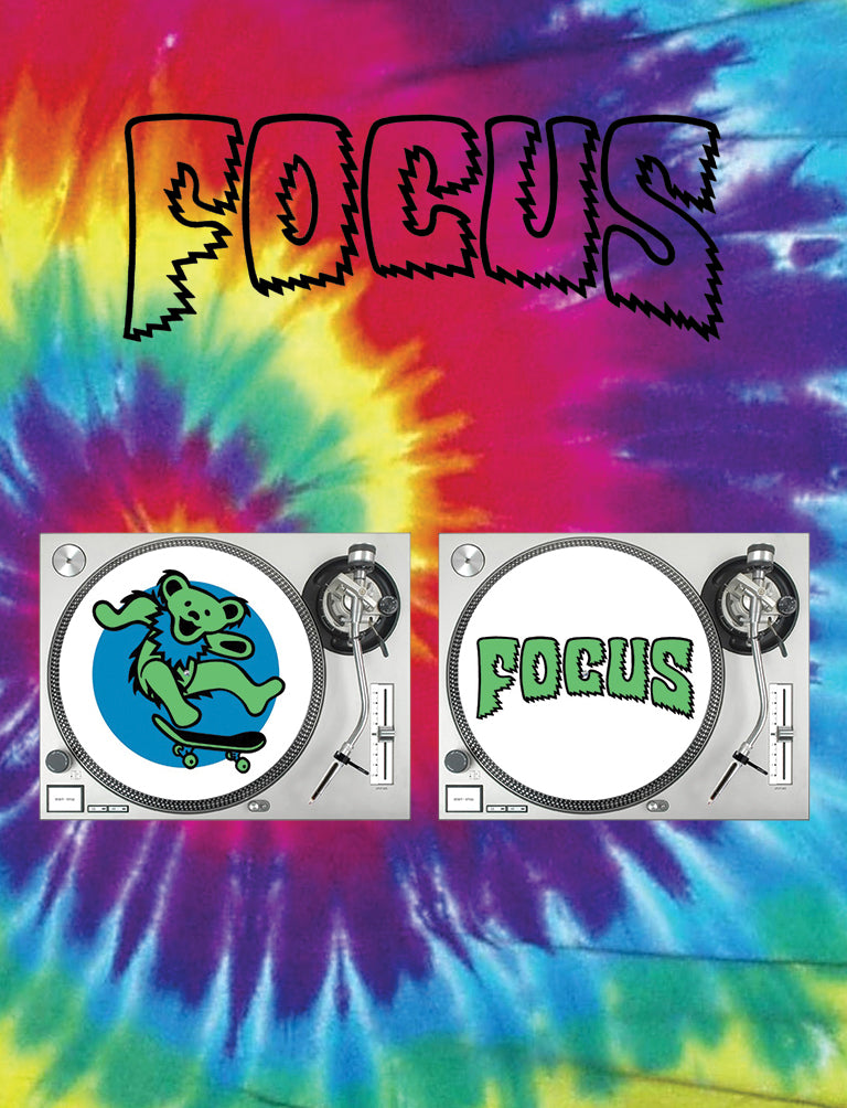 Focus Nothing Left To Do But Smile Slipmats - Pair