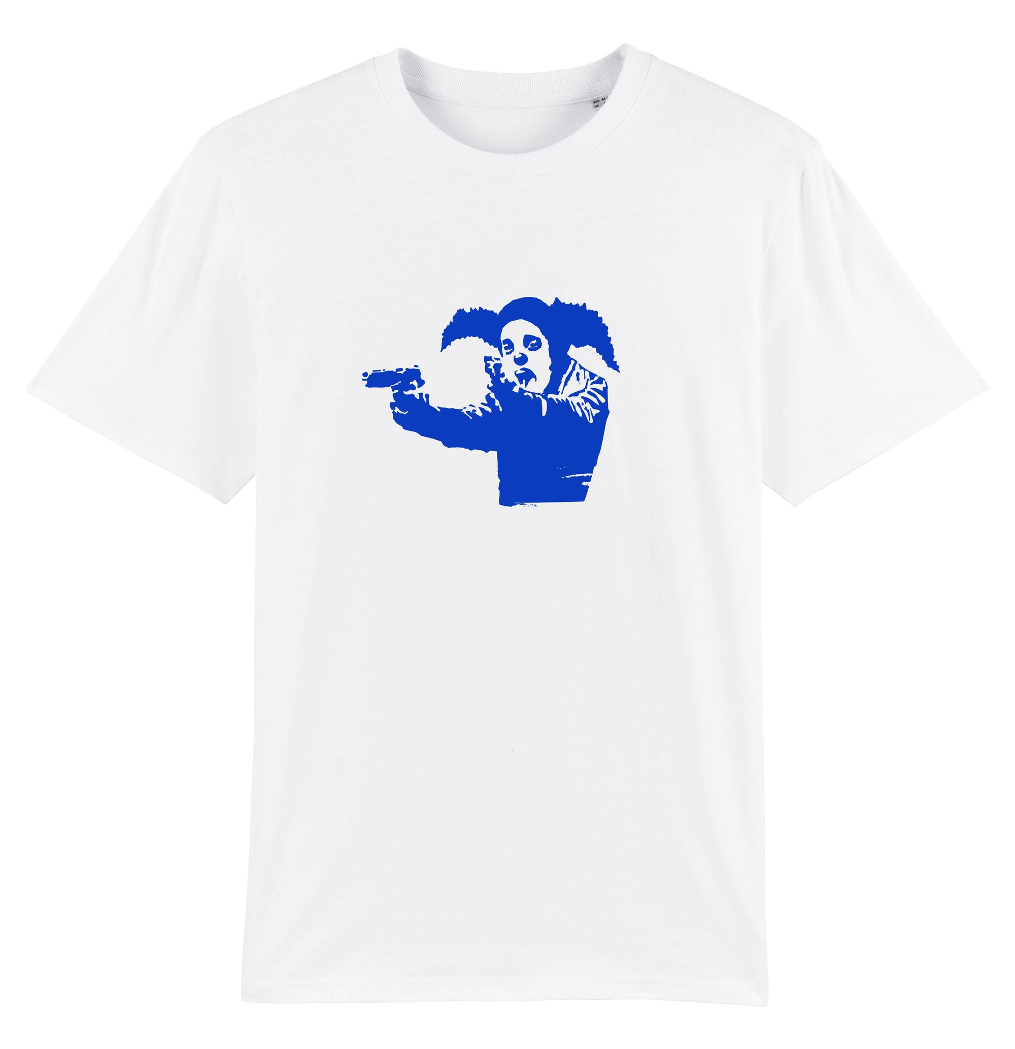 Clown Skateboards Team  T-shirt - White/Blue