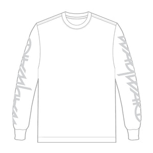 Wayward Snipes Long Sleeve T-shirt - White/Silver