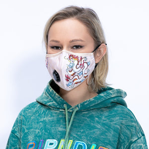 RIPNDIP Ventilator Face Mask - Dragonerm White