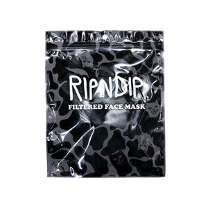 RIPNDIP Ventilator Face Mask - Blackout Camo