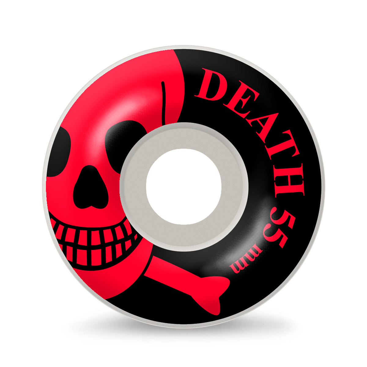 Death OG Skull Wheels Red - 55mm