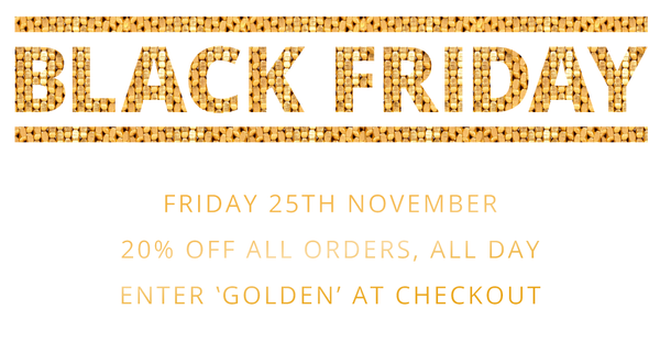 Enjoy 20% off this Black Friday!