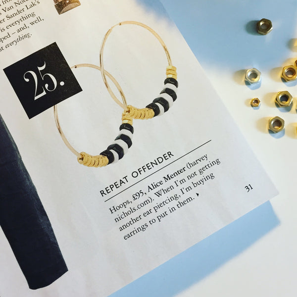 Mia Earrings in Grazia