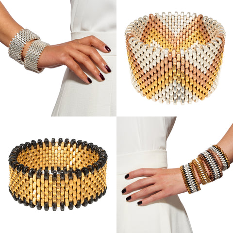 Alice Menter signature cuff designs