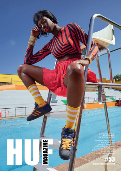 Alice Menter on HUF Magazine's cover
