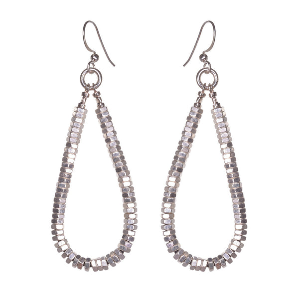 Annie Silver Earrings by Alice Menter - 1