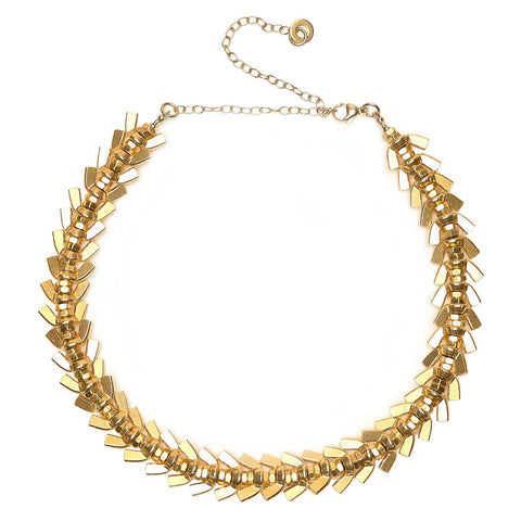 Anya Gold Necklace by Alice Menter - 1