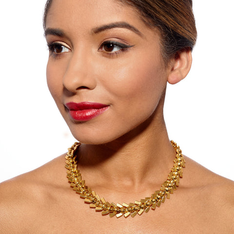Anya Gold Necklace by Alice Menter - 2