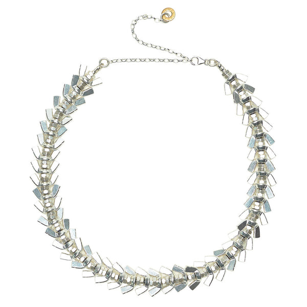 Anya Silver Necklace by Alice Menter - 1