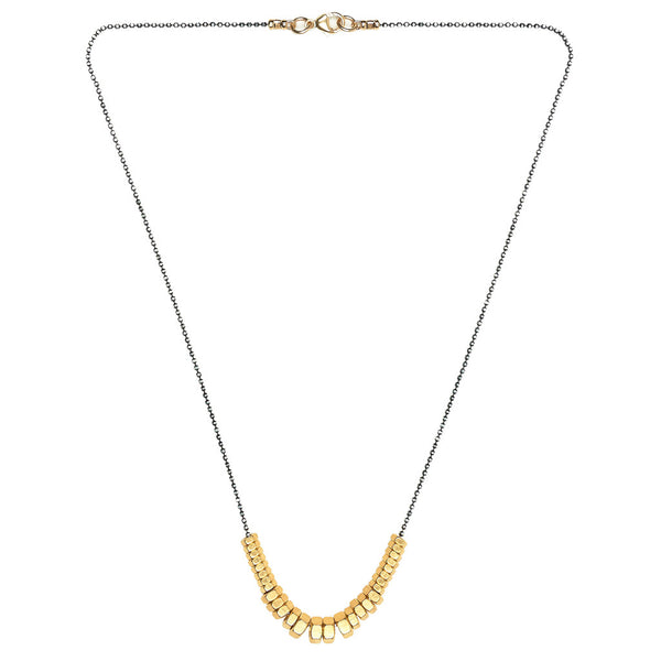 Cecily Gold Necklace by Alice Menter - 1