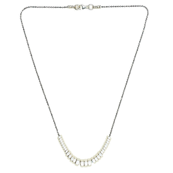 Cecily Silver Necklace by Alice Menter - 1