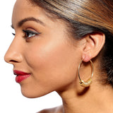 Clari Gold Washers Earrings by Alice Menter - 2