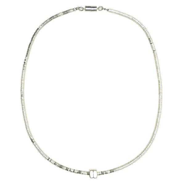 Delphi Silver Necklace by Alice Menter - 1