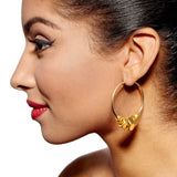 Harper Gold Earrings by Alice Menter - 2
