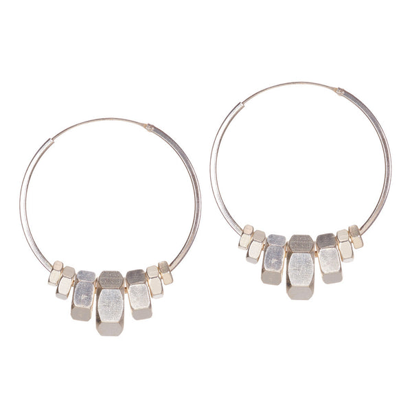 Harper Silver Earrings by Alice Menter - 1