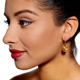 Harriet Gold Earrings by Alice Menter - 2