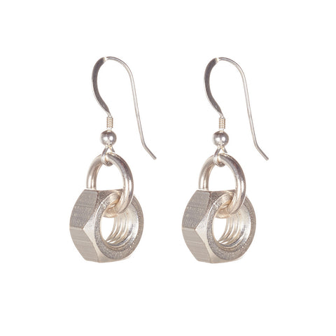 Harriet Silver Earrings by Alice Menter - 1