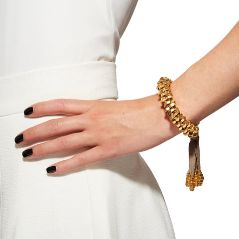 Inma Gold Bracelet by Alice Menter - 2