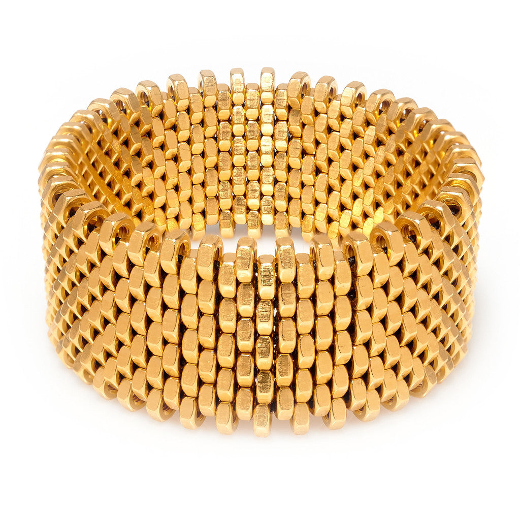 cuff gold naomi bracelet geometric simple bangles golden minimal chunky bangle