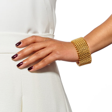Isla Gold Cuff by Alice Menter - 2
